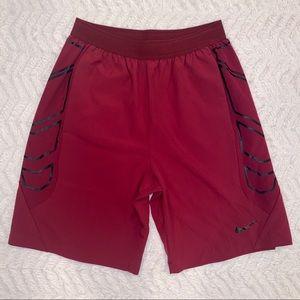 "Nike Vapor Flex 8"" Men's Training Shorts Dark Red"